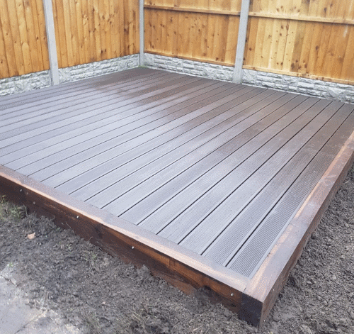 Composite decking Preston small