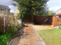 Paving and drainage project, Leyland