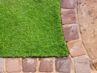 How to fix faded artificial grass