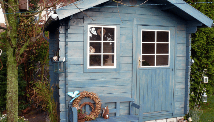 Summer house shed which could be used for an office