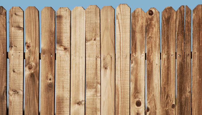 Picket fence with incorrect spacing