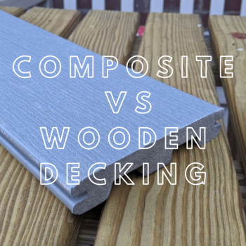 Composite and wooden decking