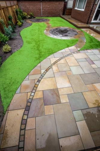 Fulwood garden design
