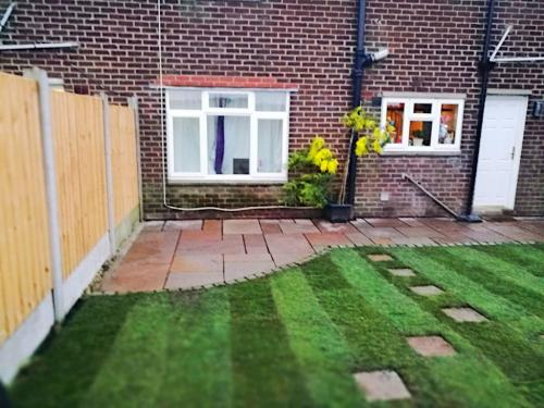 Small garden conversion in Chorley